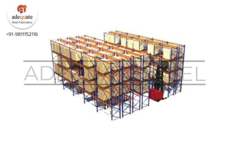 Double Deep Pallet Racking Exporters and Suppliers In Balod