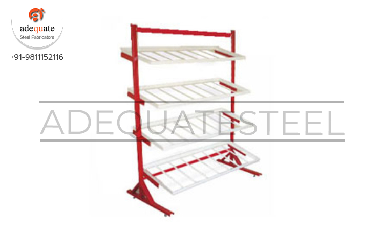 Fruit And Vegetable Tube Type Racks In Chhapra