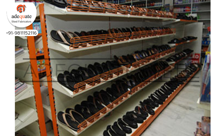 Mesh Stopper Shoe Rack In Upper Siang