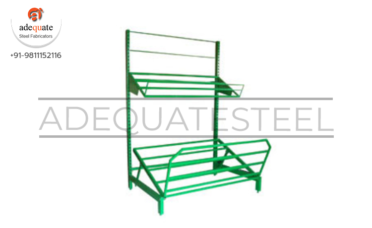 Open Adjustable Fruit And Vegetable Racks Exporters and Suppliers In Bhojpur