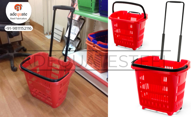 Plastic Trolley Exporters and Suppliers In Chandigarh