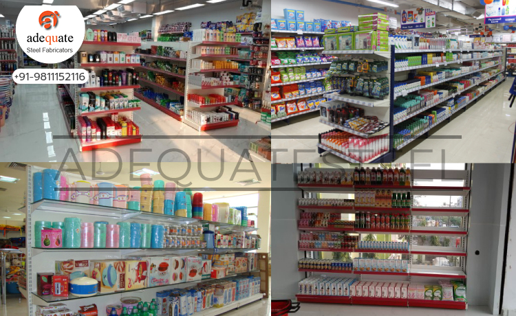 Supermarket Rack In Muzaffarnagar