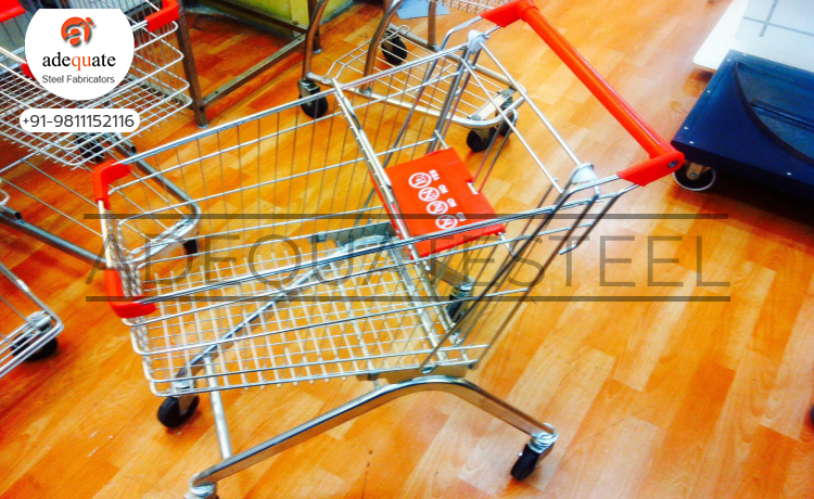 Supermarket Shopping Trolley In Chandigarh