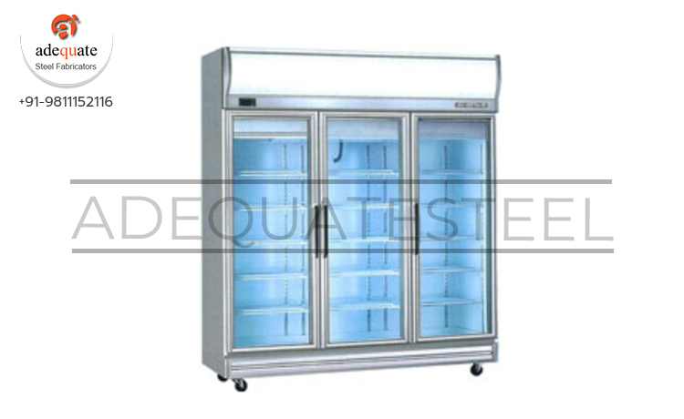 Three Door Display Chiller Exporters and Suppliers In Upper Dibang Valley